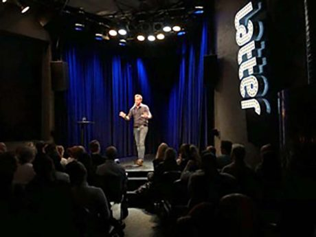 Jimmy McGhie Latter Comedy Club Oslo