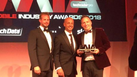 Jimmy McGhie Mobile Industry Awards
