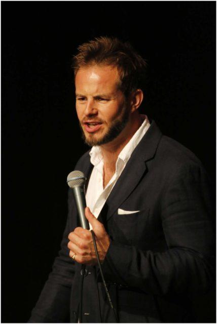 Host Jimmy McGhie